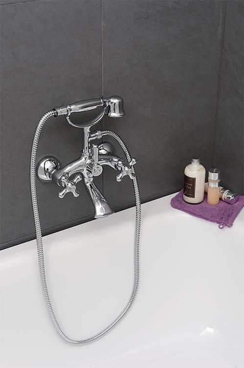 kit mitigeur bain douche retro avec