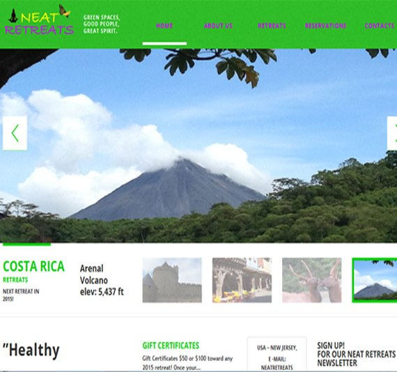 neatretreats home page