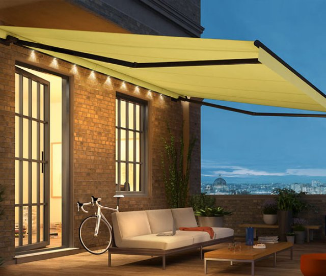 Weinor Retractable Awnings Create Pleasant Spaces With Durable Products