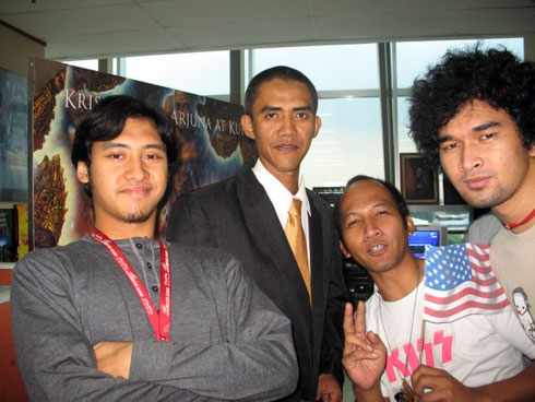 Ilham Anas, Indonesian Obama's lookalike