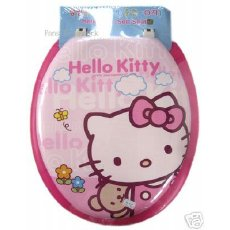 Sanrio Hello Kitty Toilet Seat Hello Kitty: The Funny, The Weird, And The Horrifying picture