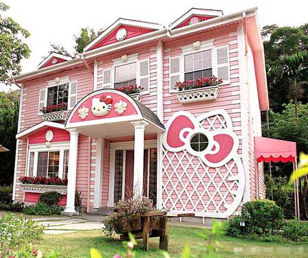 kitty house Hello Kitty: The Funny, The Weird, And The Horrifying picture