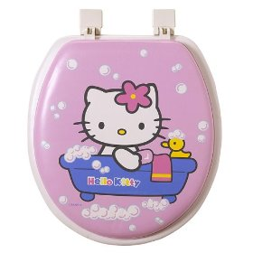 kitty toilet seat Hello Kitty: The Funny, The Weird, And The Horrifying picture