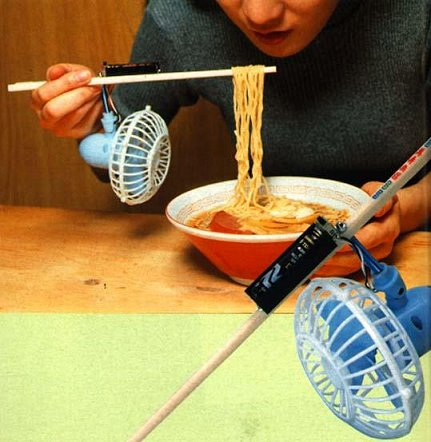 noodle Chindogu: Weird and Useless Japanese Inventions  picture