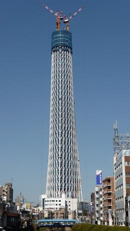 Tallest building in japan only halfway to its planned height for Asia famous buildings