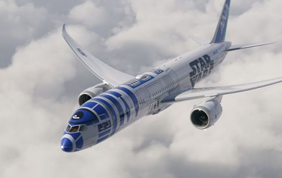 Fly the Friendly Skies-Star Wars Style