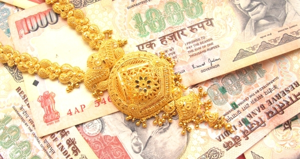 Indian money as dowry