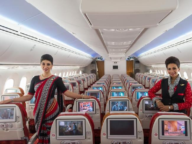 Air India flight attendants
