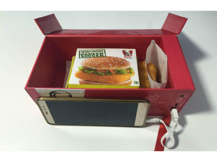 KFC Watt A Box phone charger