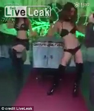 China Funeral Strippers