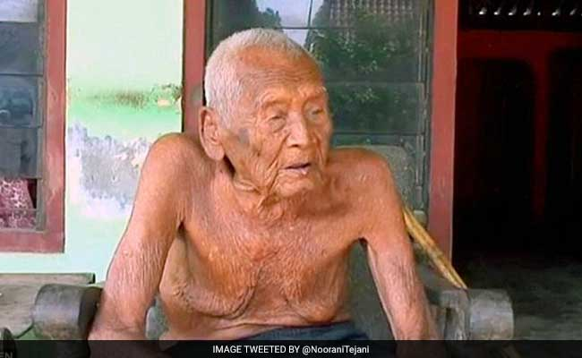 Mbah Gotho Indonesian 145 year old man oldest man in the world