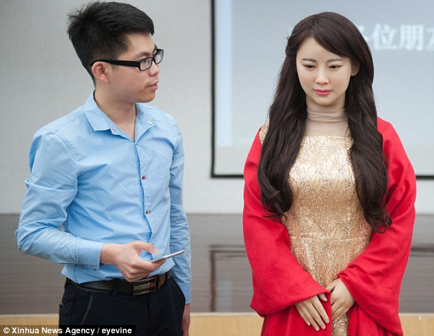 china married robot jia jia jiajia AI