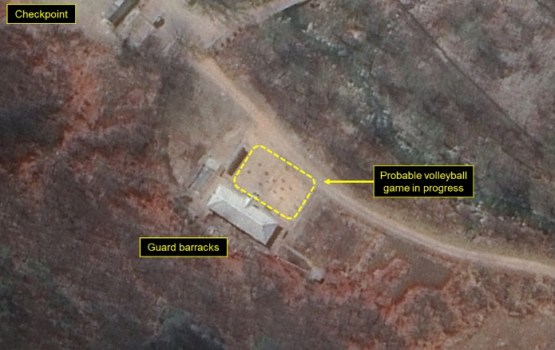 North Korea Puts Volleyball Courts Atop Nuclear Test Site
