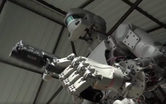 Russia's Terminator Robot Can Shoot, Drive, And Spacewalk