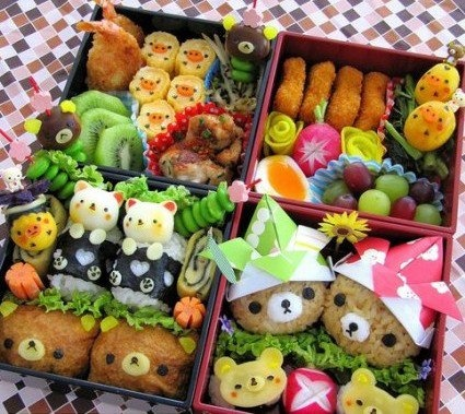 kyaraben bento box japan