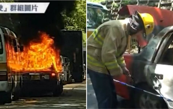 Irate Passenger Refuses To Pay, Torches Taxi