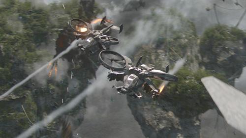 avatar two gun ships
