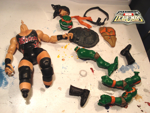 dismembered action figures