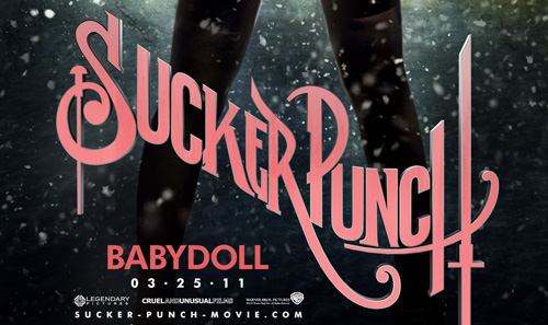Sucker Punch the movie logo