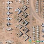 Airplane Graveyard in Tucson