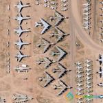 Airplane Graveyard in Tucson
