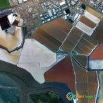 Cargill Salt Evaporation Ponds, Newark, California, USA