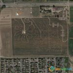 Crazed Corn Field Maze, Denver, Colorado, USA