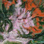 Pink Mountain, Kamchatka Krai, Russia