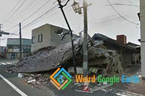 Namie Town, Fukushima Exclusion Zone,Futaba District, Fukushima Prefecture, Japan