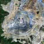 Bingham Canyon Mine, Herriman, Utah, USA