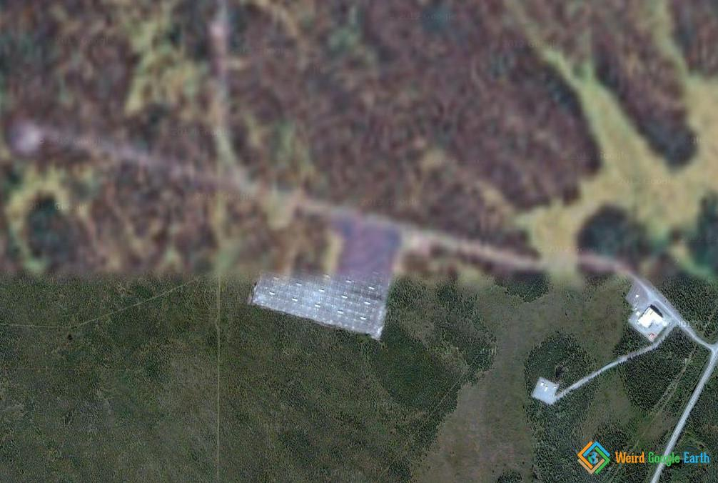 HAARP Site – Weird Google Earth