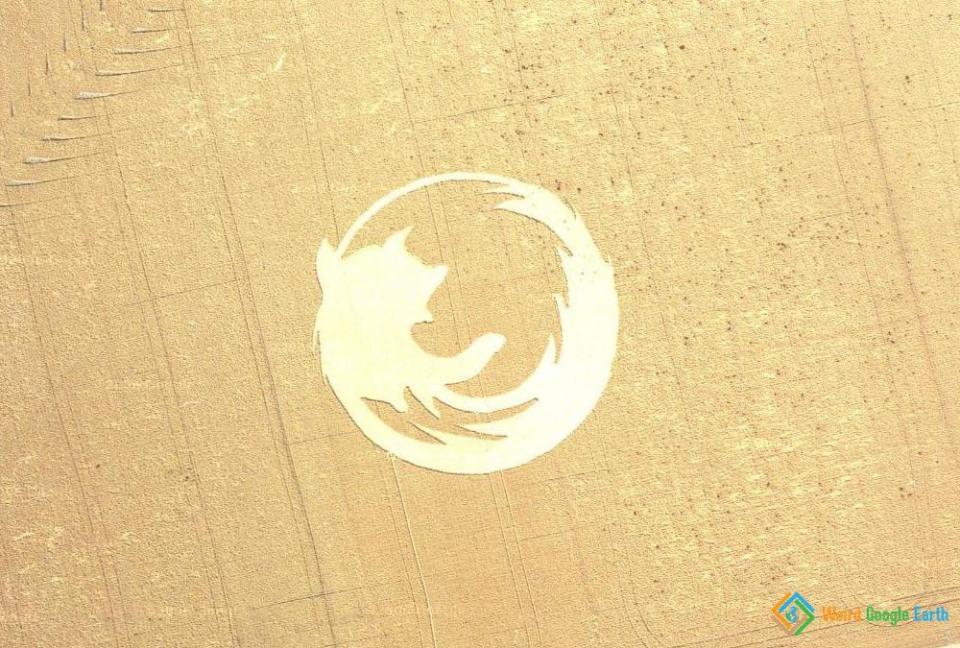 Firefox Logo, Dayton, Oegon, USA