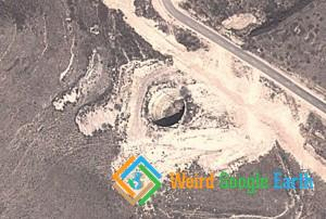 Hole in the Ground in Xinzhou, Xinzhou, Shanxi, China