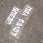 Jesus Loves You, Boise National Forest, Boise, Idaho