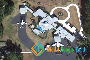 John Travolta's House and Driveway, Anthony, Florida, USA