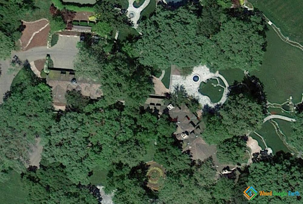 Celebrity Homes - Satellite Maps, Images & Aerial Photos ...