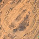 Asteroid Crater in Chad, Borkou, Chad