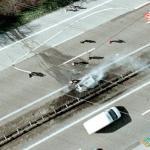Burned Car Near Langenfeld, Langenfeld, Germany