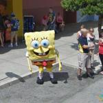 SpongeBob SquarePants in Orlando, Orlando, Florida, USA
