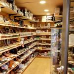 Inside a Cigar Shop, Seattle, Washington, USA