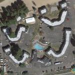 Smiling Subdivision in South Lake Tahoe, California, USA