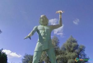 Zeus Throwing Thunderbolts in Plailly, France