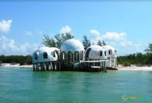 Dome Homes, Cape Romano, Florida, USA