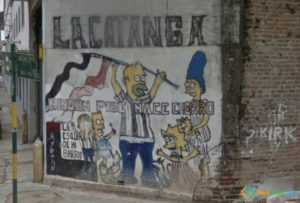 The Simpsons Graffiti, Buenos Aires, Argentina