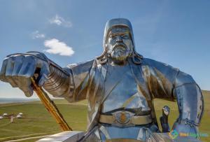 Genghis Khan Equestrian Statue, Ulaanbaatar, Mongolia