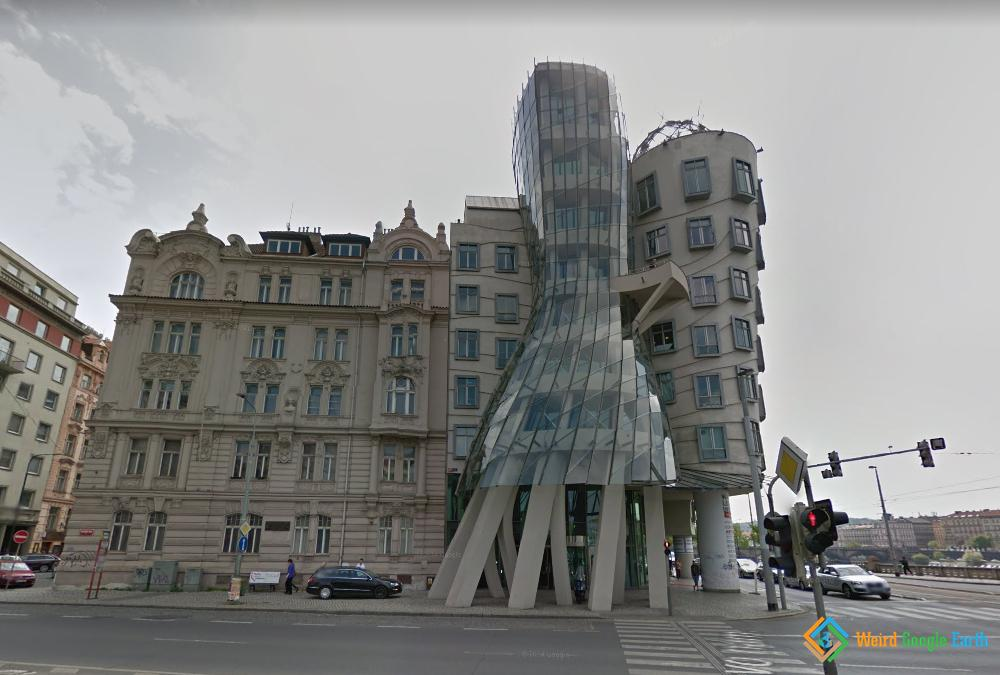 Dancing House of Prague, Prague, Czechia