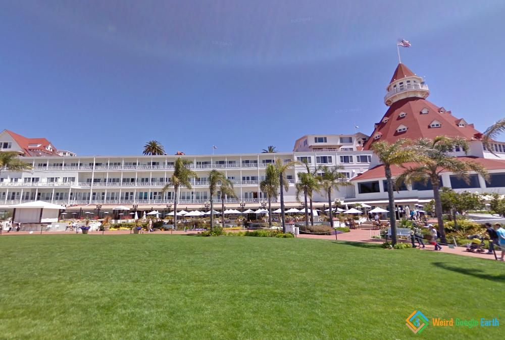 Hotel Del Coronado, Coronado, California, USA