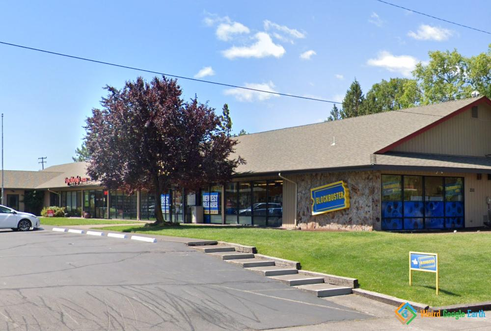 Last Blockbuster in the World, Bend, Oregon, USA
