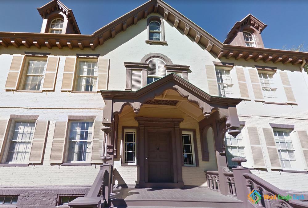 Martin Van Buren's House, Kinderhook, New York, USA