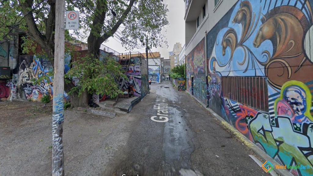 Graffiti Alley, Toronto, Ontario, Canada